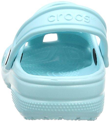 Crocs Classicclogk, Zoccoli Unisex – Bambini Blu (Ice Blue)