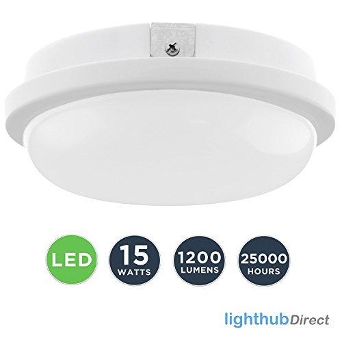 15W LED rund kreisförmige Deckenleuchte Moderne lampe Deckenmontage Wandleuchte Innenbeleuchtung WC...