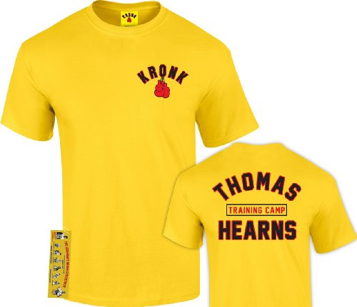 Kronk -  T-shirt - Uomo giallo Large