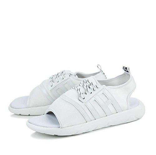 Breathable Koreanische Version Strand Schuhe Outdoor Casual Schuhe Schwarz/Rot/Weiß Größe 39-44 (Farbe : Weiß, Größe : 40) ()