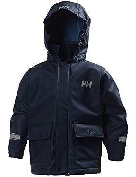 Helly Hansen K Juell PU Jacket Chaqueta Deportiva, Niños, Azul, One Size (Tamaño del Fabricante:3)