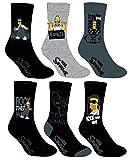 Simpsons Socken für Herren, Foto nach Verfügbarkeit. Gr. 39/42, Pack de 3 Asst1