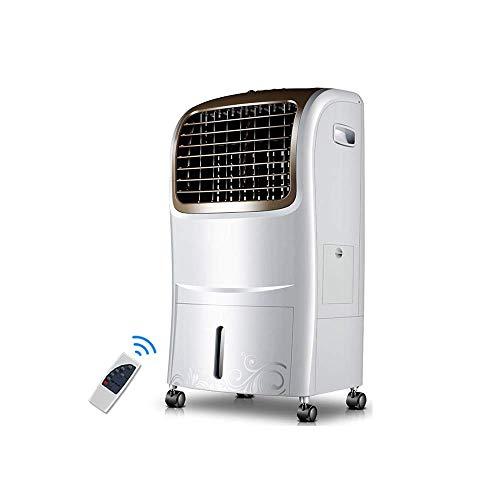 Oevino Luftkühler mit Ferngesteuerter Funktion Schnellkühlsystem Geräuschloser Betrieb Mobiler Klimaanlagenlüfter 65W
