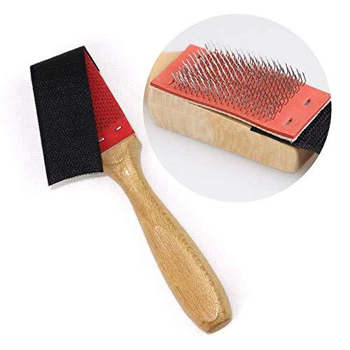 Cepillo de madera Cepillo de alambre Cepillo de alambre Cepillo de gamuza Cepillo Cepillos de limpieza para zapatos de baile