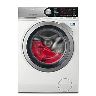 AEG L7WE86605 Waschtrockner / DualSense - schonende Pflege / 10 kg Waschen / 6 kg Trocknen / Energiesparend / Mengenautomatik / Nachlegefunktion / ProSteam - Auffrischfunktion / Kindersicherung