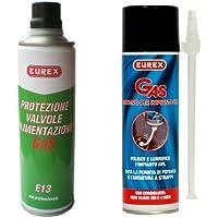 EUREX E13 PROTEZIONE VALVOLE ALIMENTAZIONE GAS 300ml. + ADDITIVO PER