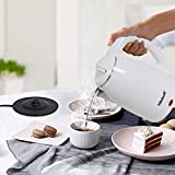Kitchoff Double Body White Coated Automatic Stainless Steel Electric 1.7 Litre Kettle for Home & Office