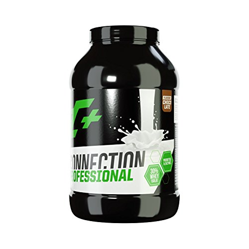 ZEC+ Whey Connection Professional - 1000 g, Proteinpulver aus Whey Konzentrat & Whey Protein, Protein Shake mit Eiweißpulver & Aminosäuren (BCAAs), Geschmack Schokolade -