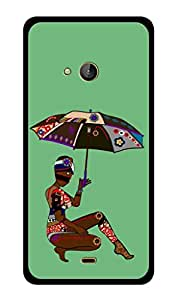 Microsoft Lumia 540 Printed Back Cover