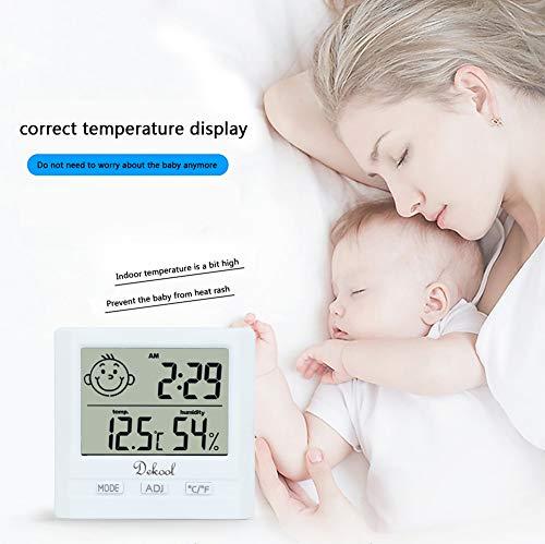 Zoom IMG-1 dekool igrometro termometro digitale monitor