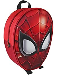 Mochila con Forma de Spiderman y Relieve 25x31x10 cm