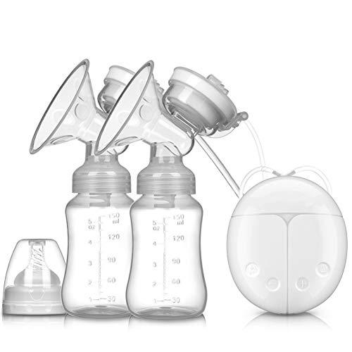 BEESCLOVER Doppio Tiralatte Elettrico con Pompe Latte BPA Free Potenti Pompe