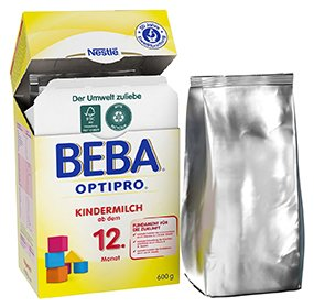 Nestlé BEBA Optipro 1, Kindermilch, Babynahrung, ab dem 12. Monat, 600 g, 12313948