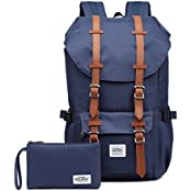 KAUKKO EP5T12, KAUKKO Fashion Backpack Laptop Bag Causal Outdoor Hiking Travel Backpacks Daypacks Blue[2PCS] (Computers & Accessories)