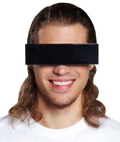 ille zensiert schwarzer Balken zum Kostüm (Zensiert Brille)