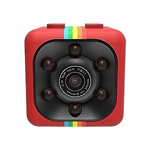 camaras miniatura: WEIHUIMEI SQ11 1080P Mini Cámara, Cámara Deportiva Cámara HD Videocámara Visión ...