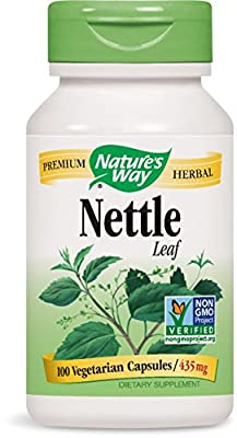 Nature's Way Nettle Herb 435mg (100 Capsules) by Nature's Way