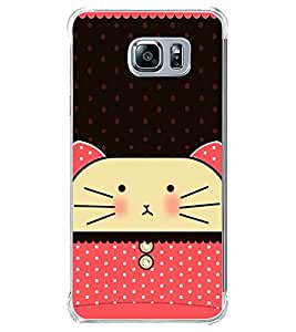 Cute Cat 2D Hard Polycarbonate Designer Back Case Cover for Samsung Galaxy Note5 :: Samsung Galaxy Note5 N920G :: Samsung Galaxy Note5 N920T N920A N920I