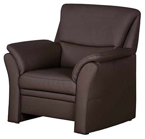 CAVADORE Sessel Klariza mit Federkern/Großer Fernsehsessel im Modernen Design/99 x 102 x...