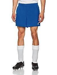 Erima–Pantalones cortos de tenis de mesa, hombre, color azul real/negro, tamaño small