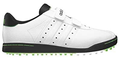 2013 Adidas Adicross II Funky Golf Shoes -Wide Fitting-White/Black/FP-12UK