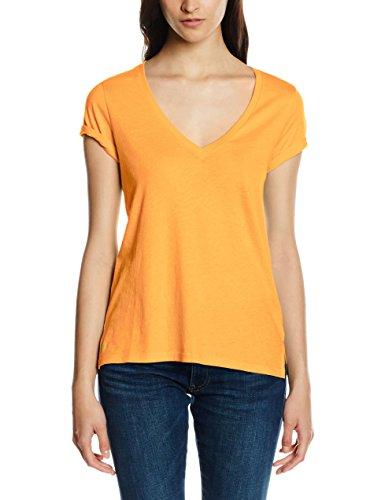 Polo Ralph Lauren Damen T-Shirt Christy Tee Ss Knt Orange (FLO ORANGE FLASH B8H03)