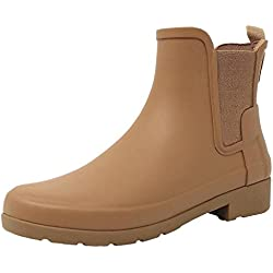 Hunter Women Original Chelsea Pluton WFS1017RMA PTO, botas de agua color camel, 39