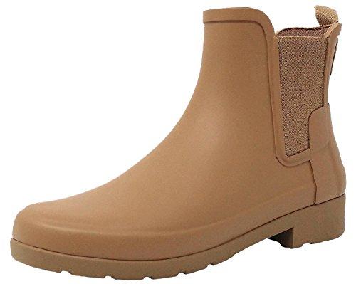 Hunter Women Original Chelsea Pluton WFS1017RMA PTO, botas de agua color camel, 37