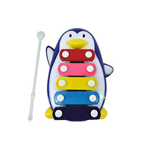 xilofono giocattolo pinguino attività musicale, FEITONG bambino ragazzo giocattolo di