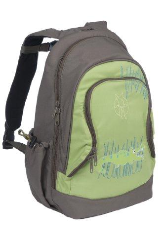 Lässig Mini Backpack Big Kinderrucksack Kindergartentasche, 32 x 18x 42 cm, Crocodile granny -