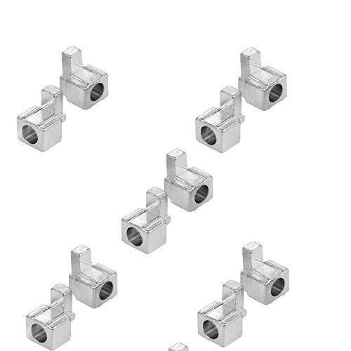 5 Paar Metall Schloss Schnallen Edelstahl für Nintendo Switch NX Joy-Con Controller