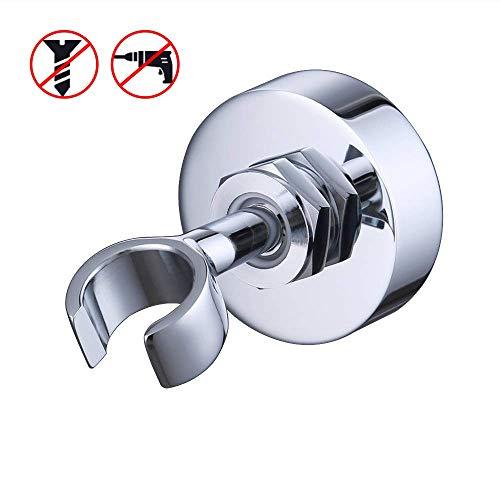 KES Messing Dusche Kopf Halterung Halter stufenlos verstellbare Wandhalterung verchromt, C213 - Beschlag-dusche-kopf