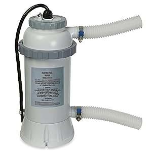 Intex - 56684Ef - Accessoires Piscines - Réchauffeur 3 Kw Pour Piscine - Pour Piscine Jusqu'À 12 M3