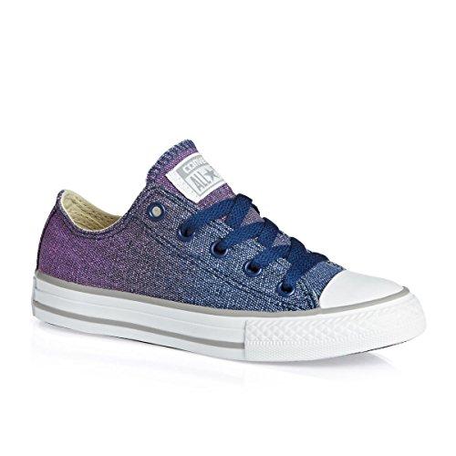 CONVERSE Chuck Taylor All Star Core Ox 015810-21 Unisex - Kinder Sneaker (Rosa Mädchen Converse Schuhe)