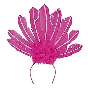 Boland 52105 Samba - Diadema de neón, Color Rosa