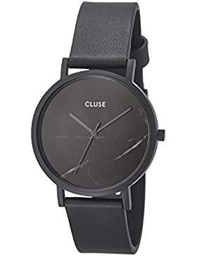 Cluse Damen Armbanduhr Analog Quarz Leder CL40001