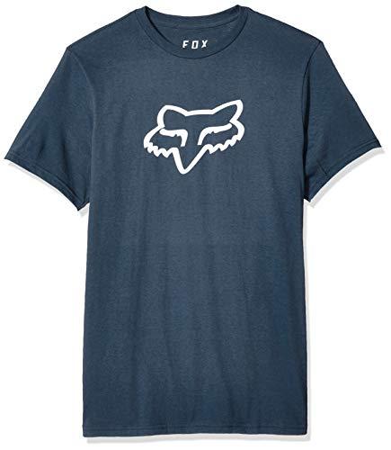 Fox Herren Legacy Head Short Sleeve Basic T-Shirt, Navy, Groß - Fox Navy T-shirt