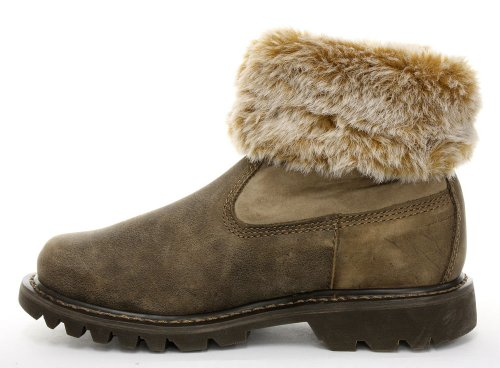 Cat Footwear Bruiser Scrunch, Bottes femme Beaned