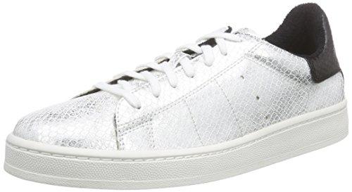 Esprit Gwen Lace Up, Baskets Basses femme Blanc - Weiß (100 white)