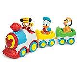 Clementoni-14361-Jouet Premier Age-Le train musical de Mickey et ses amis