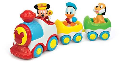 Clementoni 143610N Music Train Mickey Mouse