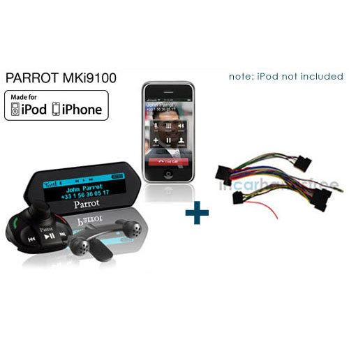 Parrot MKi9100 Bluetooth Car Kit + SOT-963 für Opel/Kram 86173 Parrot Mki9100 Bluetooth