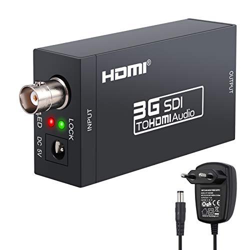 Conversor SDI HDMI Adaptador SD-SDI HD-SDI 3G-SDI