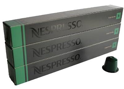 Nespresso Capsules UK - 30x Capriccio - Original Nestlé - Espresso Coffee by Nestlé