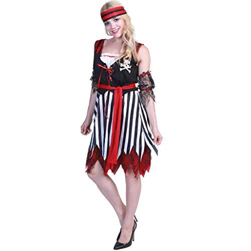EraSpooky Halloween Piraten Damen Leichtes Kostüm
