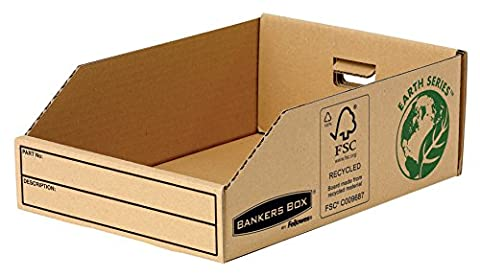 Bankers Box Earth Series Parts Bin, 200 mm - Pack of 50