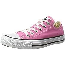 Converse Chuck Taylor All Star Ox, Zapatillas de Lona, Unisex, Rosa (Pink), 45