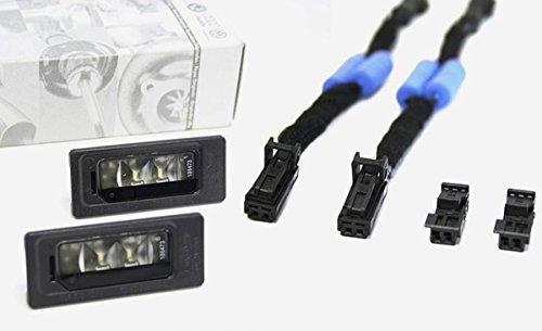 Original LED Kennzeichen Leuchten Widerstands Adapter Kennzeichenbeleuchtung