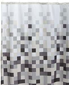 Sealskin Duschvorhang Model Pixel (zwart/black) B x H: 180 cm x 200 cm