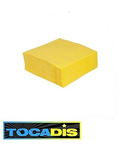 120-serviettes-jetables-38x38cm-epaisseur-4-plies-12-couleurs-differentes-tocadis-jaune